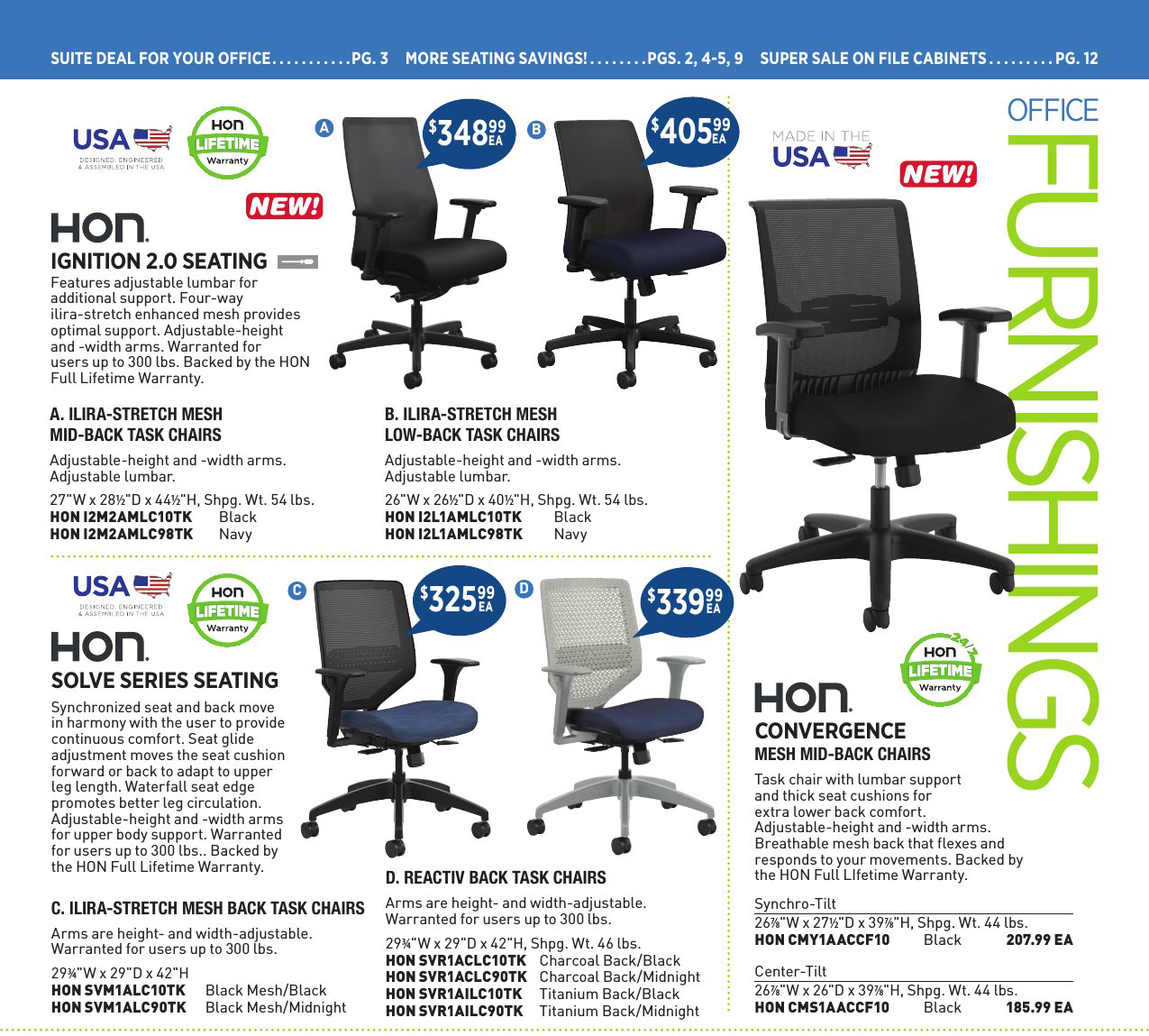 Office Furnishings Catalog