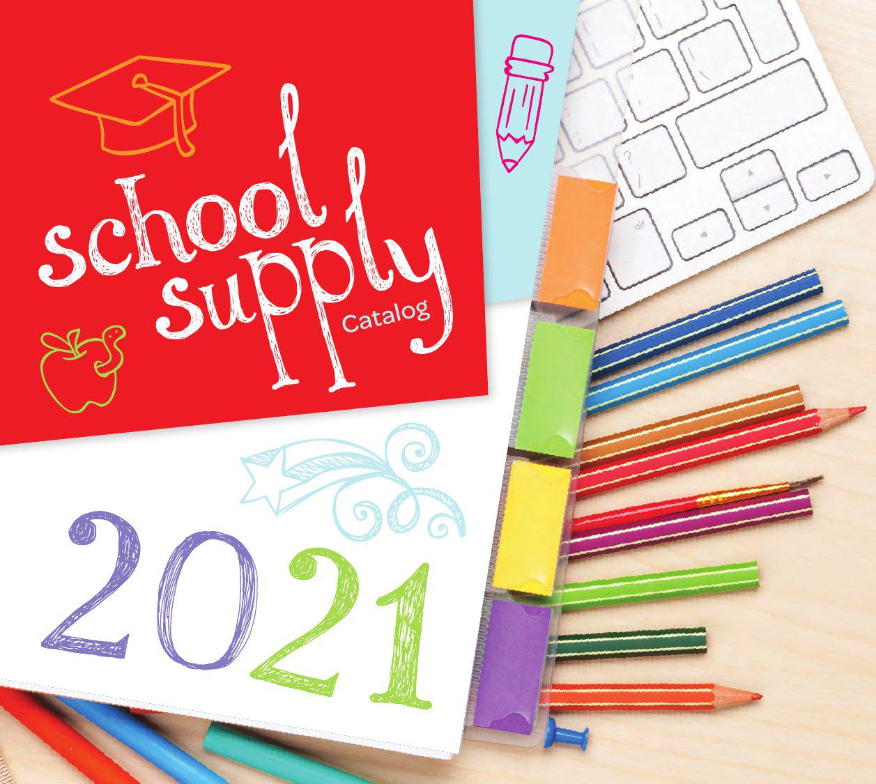 2021 School Supply Catalog